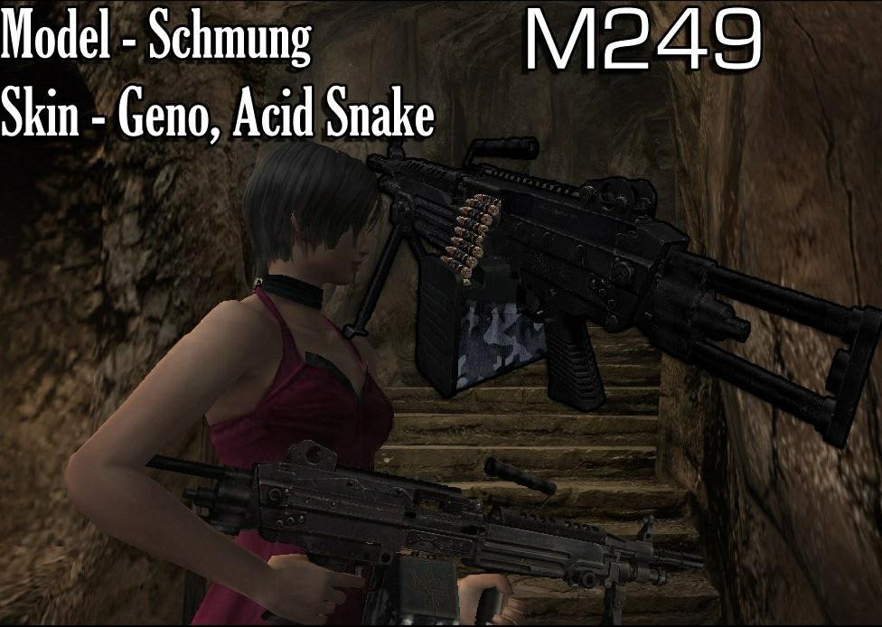 [OFFLINE] M249 Machinegun - por la Chicago Typewriter M24910