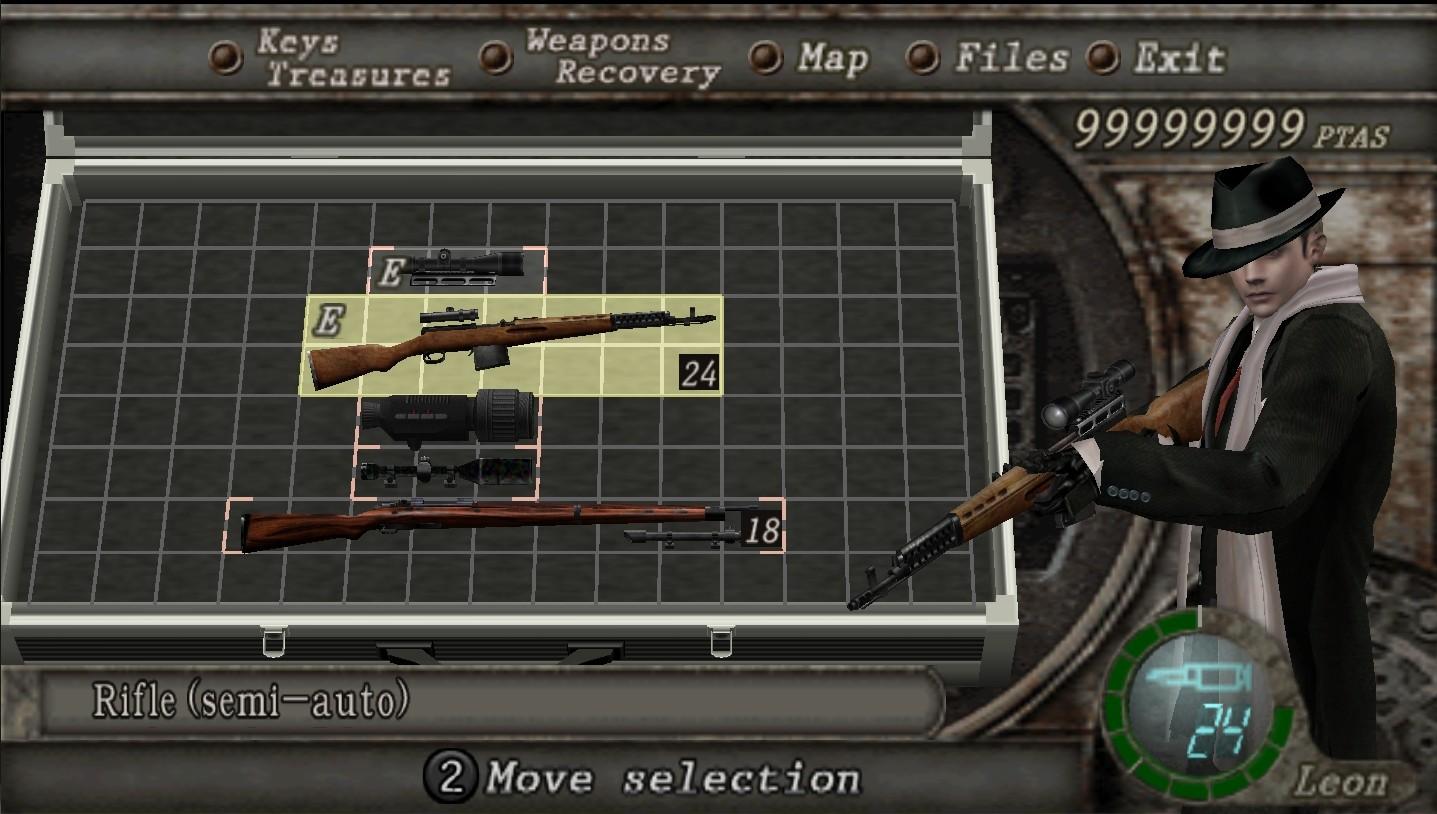 Pack de armas clásicas (Old-style-weapons-pack) Rifle10