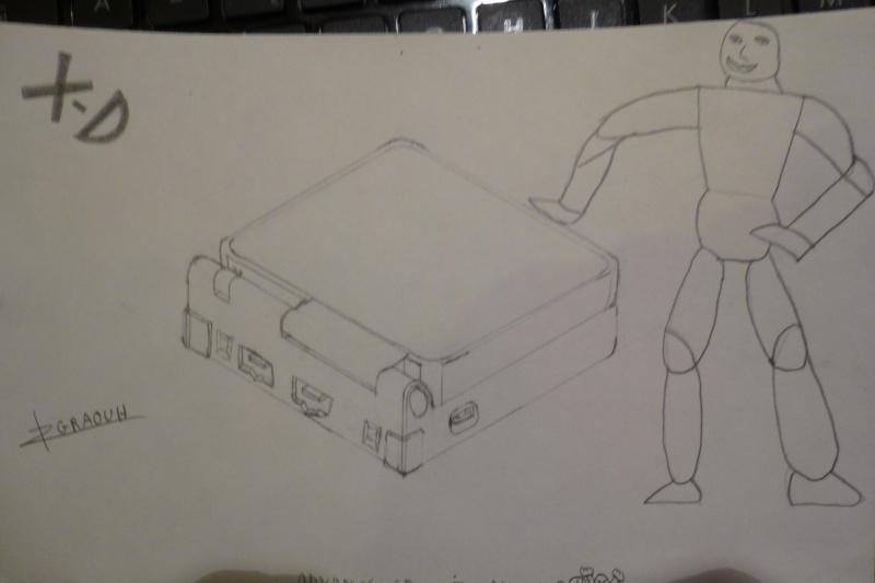 le coup de crayon du graouh gribouilleur :D P1010212
