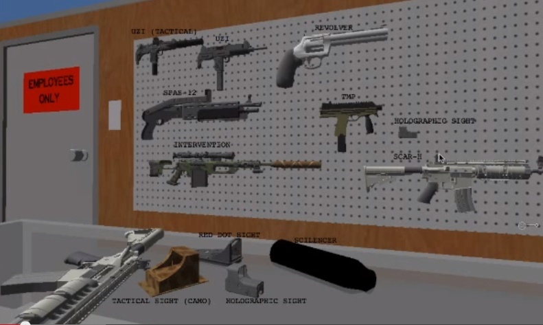 Fps 3D Model Pack 1 Screen10