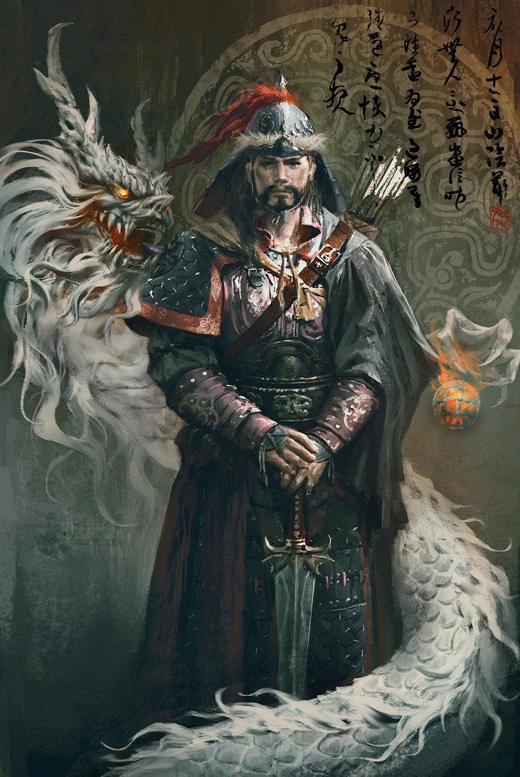 HUMANS - The Sarcosans Genghi10