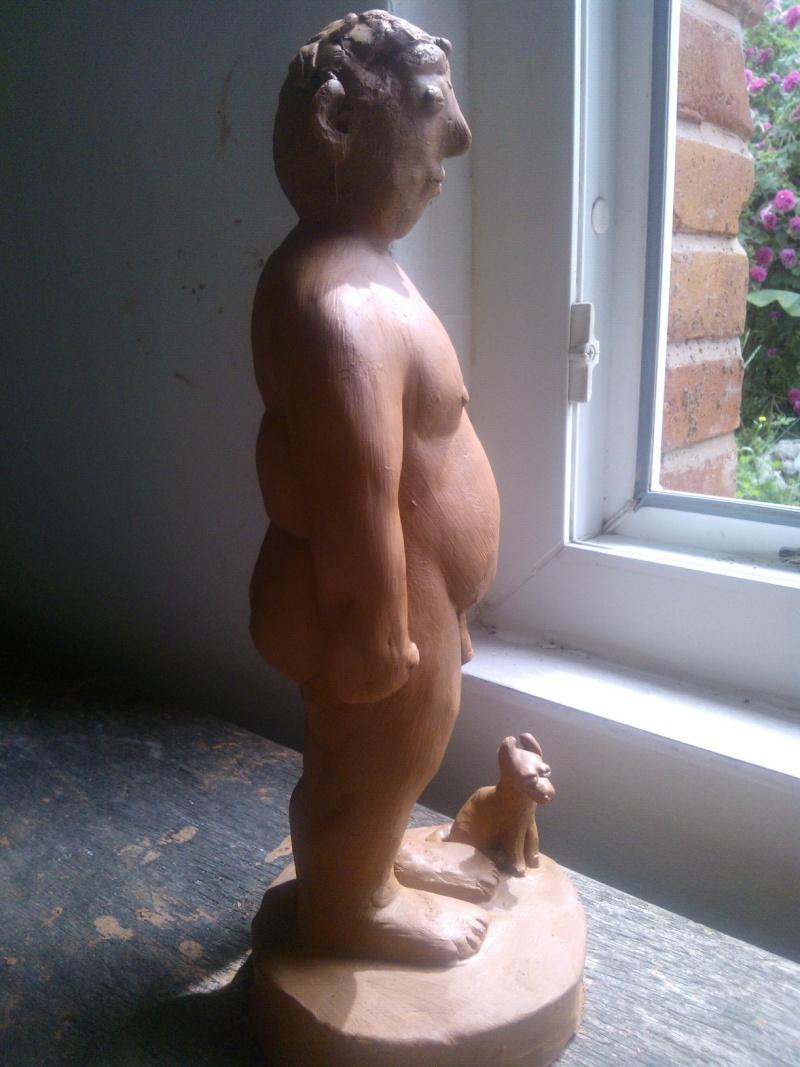 obèse et son chien Wp_00020