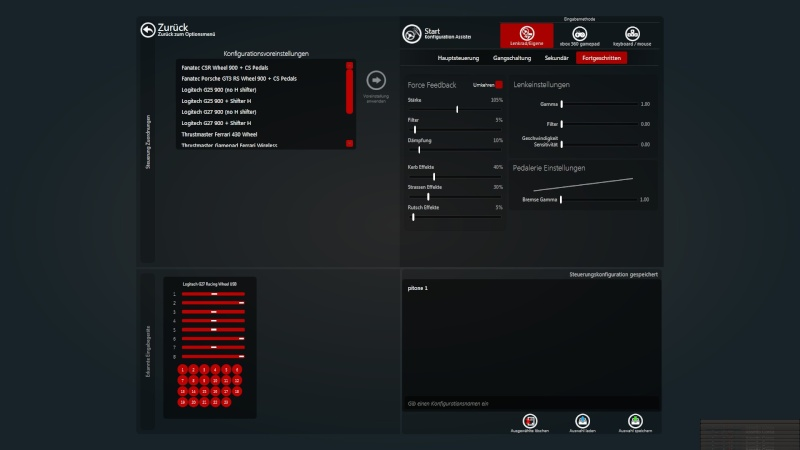 Force Feedback settings 2014-019