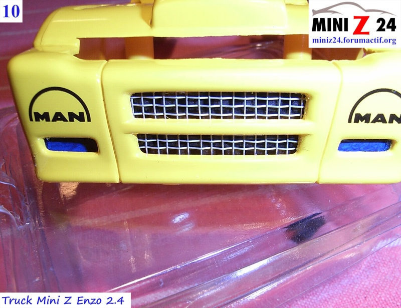 TUTO Truck Mini Z MAN TR 1400 Commonrail 10lntr10