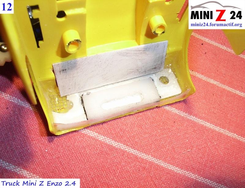 TUTO Truck Mini Z MAN TR 1400 Commonrail 12lntr10