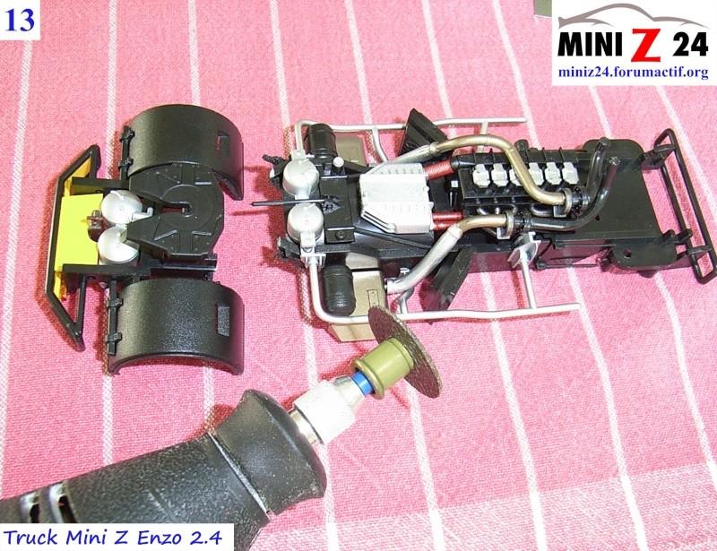 TUTO Truck Mini Z MAN TR 1400 Commonrail 13lntr10
