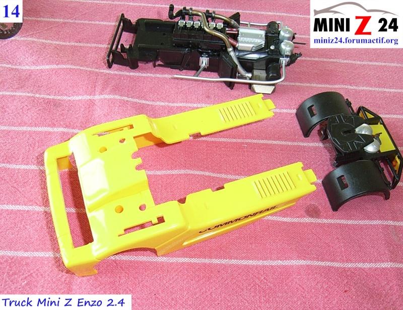 TUTO Truck Mini Z MAN TR 1400 Commonrail 14lntr10