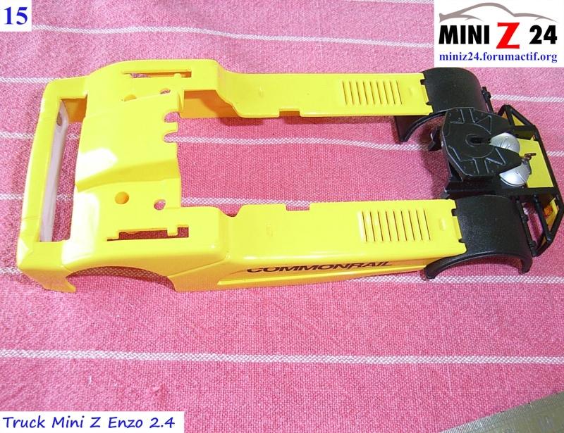 TUTO Truck Mini Z MAN TR 1400 Commonrail 15lntr10