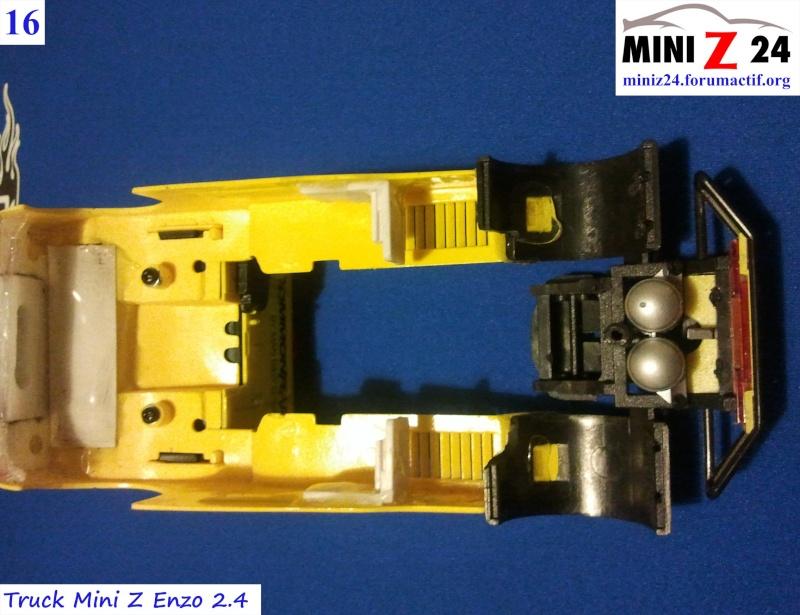 TUTO Truck Mini Z MAN TR 1400 Commonrail 16lntr10