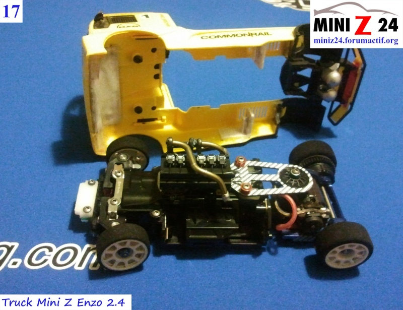 TUTO Truck Mini Z MAN TR 1400 Commonrail 17lntr10