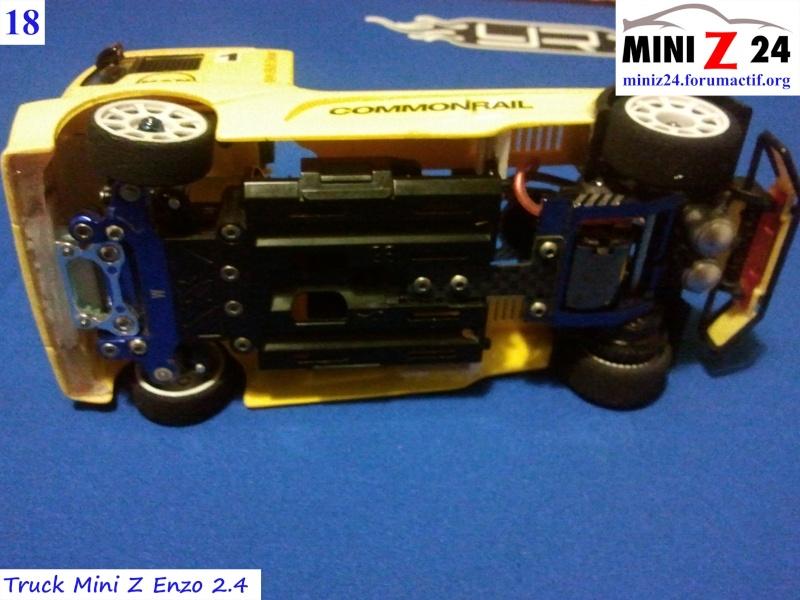 TUTO Truck Mini Z MAN TR 1400 Commonrail 18lntr11
