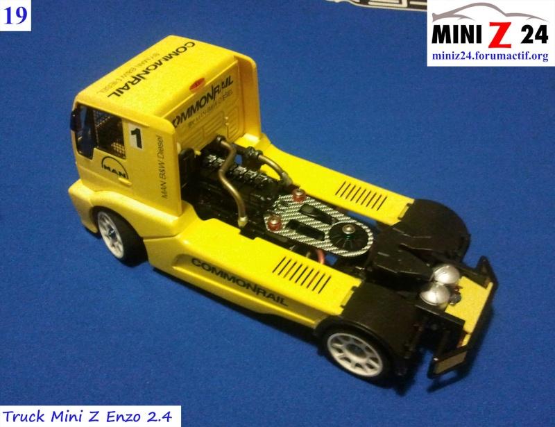 TUTO Truck Mini Z MAN TR 1400 Commonrail 19lntr10