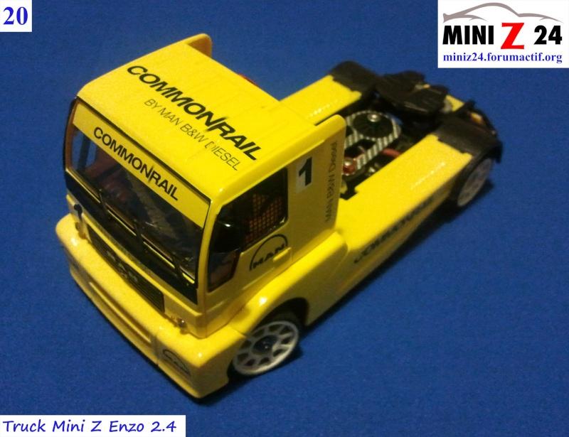 TUTO Truck Mini Z MAN TR 1400 Commonrail 20ltru10
