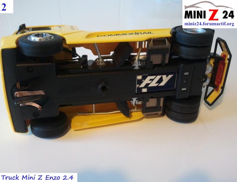 TUTO Truck Mini Z MAN TR 1400 Commonrail 2lntru11