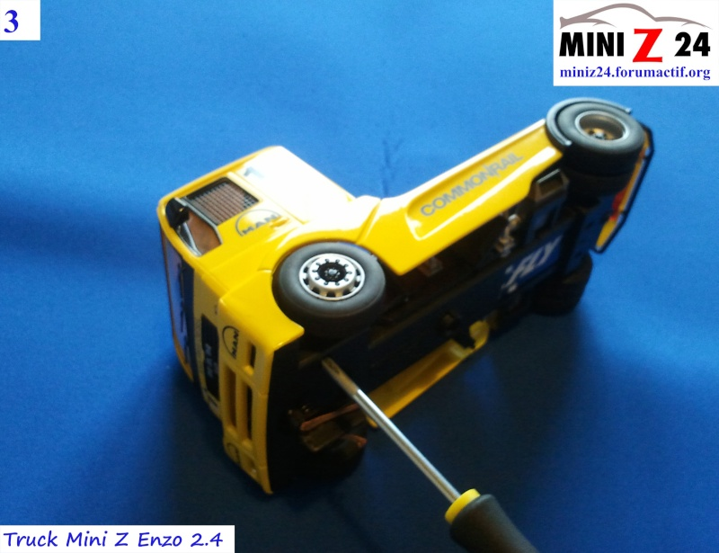 TUTO Truck Mini Z MAN TR 1400 Commonrail 3lntru10