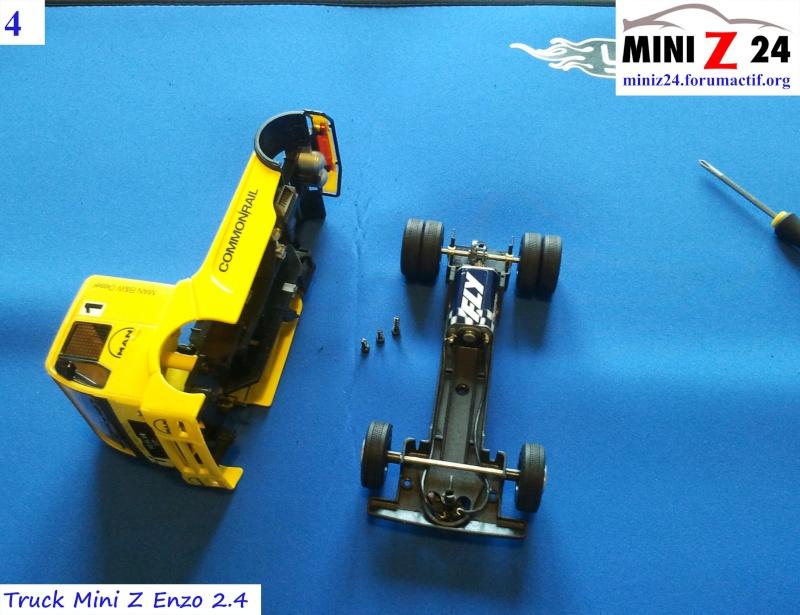 TUTO Truck Mini Z MAN TR 1400 Commonrail 4lntru12