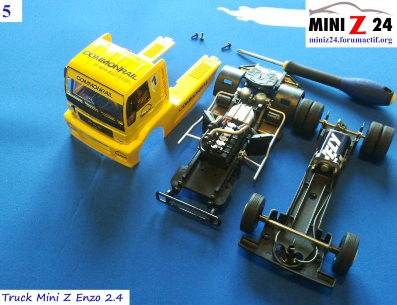 TUTO Truck Mini Z MAN TR 1400 Commonrail 5lntru10
