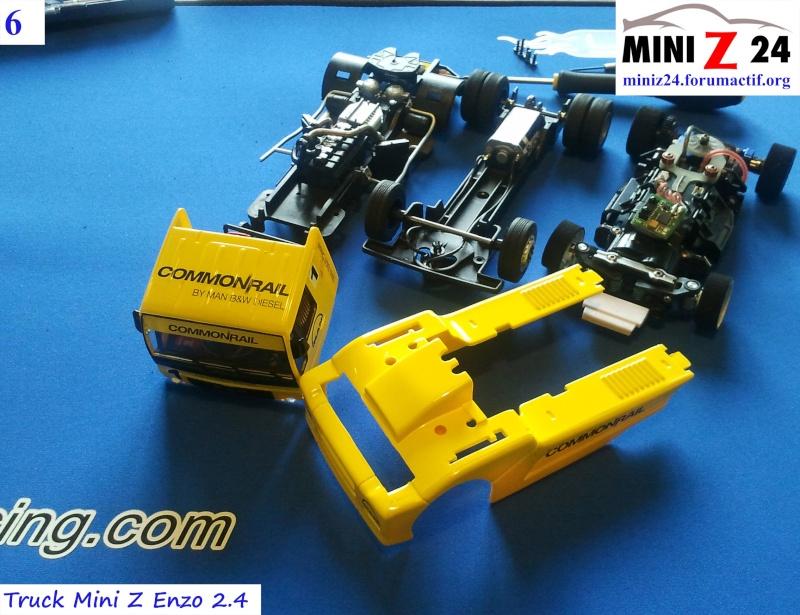 TUTO Truck Mini Z MAN TR 1400 Commonrail 6lntru10