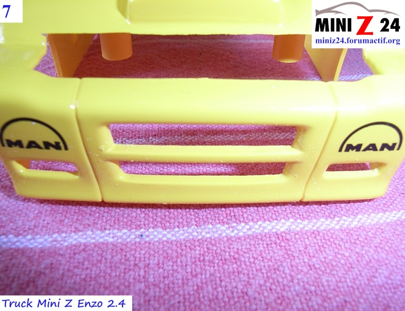 TUTO Truck Mini Z MAN TR 1400 Commonrail 7lntru11