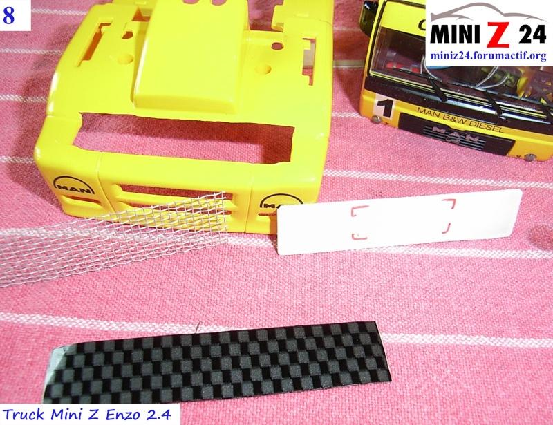 TUTO Truck Mini Z MAN TR 1400 Commonrail 8lntru10