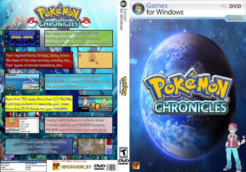 Pokémon Chronicles Demo - Version 13 Pokemo12
