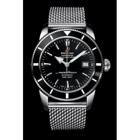 breitling superocean - IWC Portofino bracelet milanaise ou Breitling superocean heritage bracelet milan Breitl16
