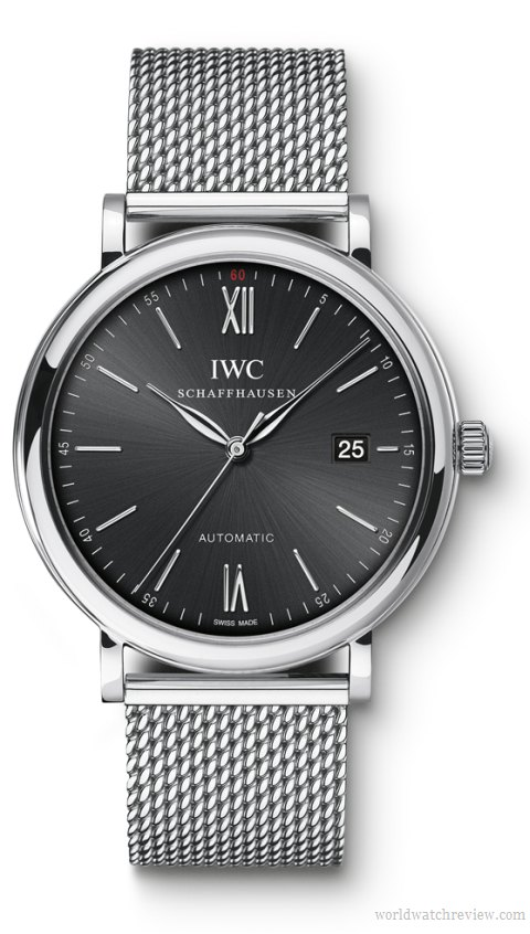 breitling superocean - IWC Portofino bracelet milanaise ou Breitling superocean heritage bracelet milan Iwc-po12