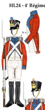 Grenadier 15e régiment Infanterie de la ligne Espagne 1807 MM 54m (modifications)  - Page 6 4ame_r10