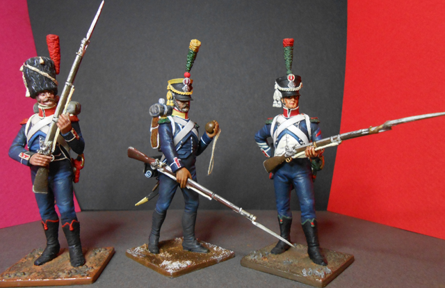Grenadier 15e régiment Infanterie de la ligne Espagne 1807 MM 54m (modifications)  - Page 5 Photo250