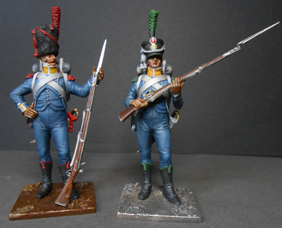 Grenadier 15e régiment Infanterie de la ligne Espagne 1807 MM 54m (modifications)  - Page 6 Photo306