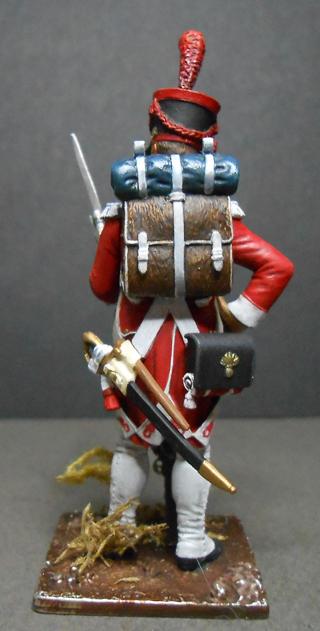 Grenadier Bataillon Valaisan métal modèle modification Photo455