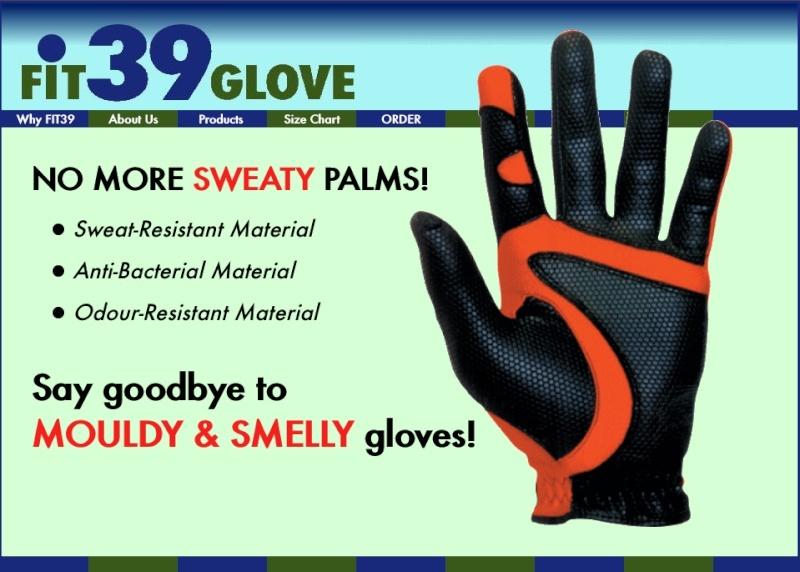 FIT39 Golf Gloves Fit3911