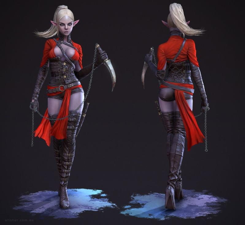 L'elfe noire Feriel Dark_e10