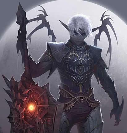 L'elfe noire Feriel Dea32710