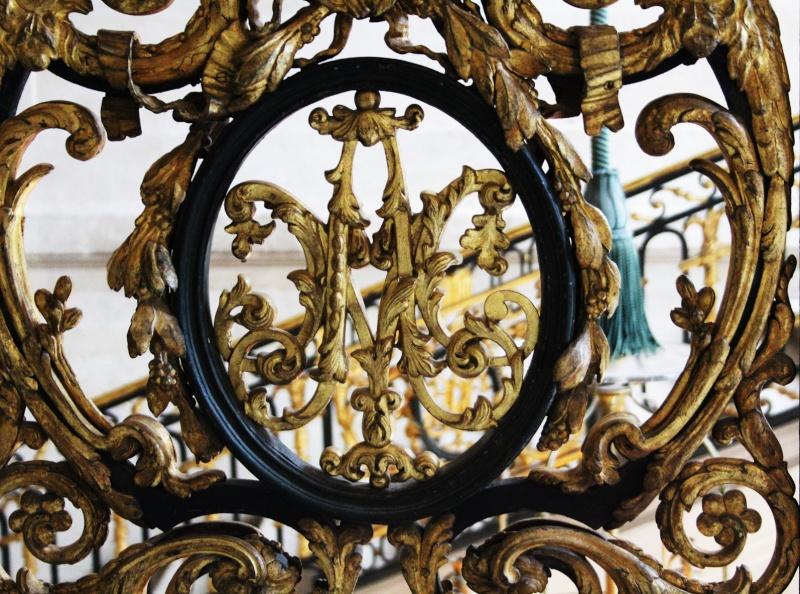 escalier - La visite du Petit Trianon: L'escalier d'Honneur 12bis10