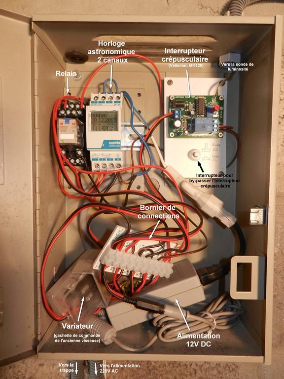 Porte automatique pour votre poulailler Tablea11