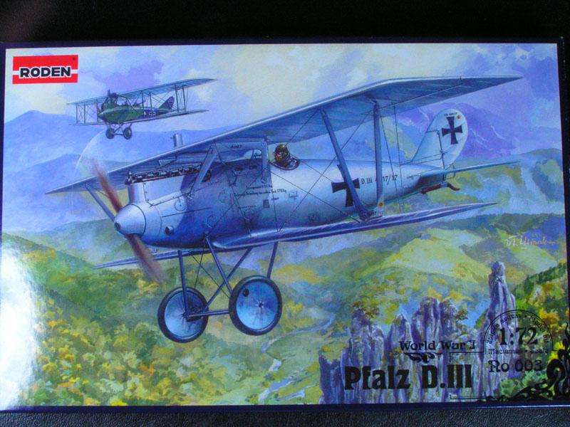 Roden 1/72 Pfalz DIII Pfalz010