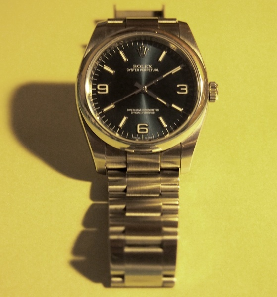 [Vends] Rolex Oyster Perpetual 116000 cadran bleu - comme neuve 110