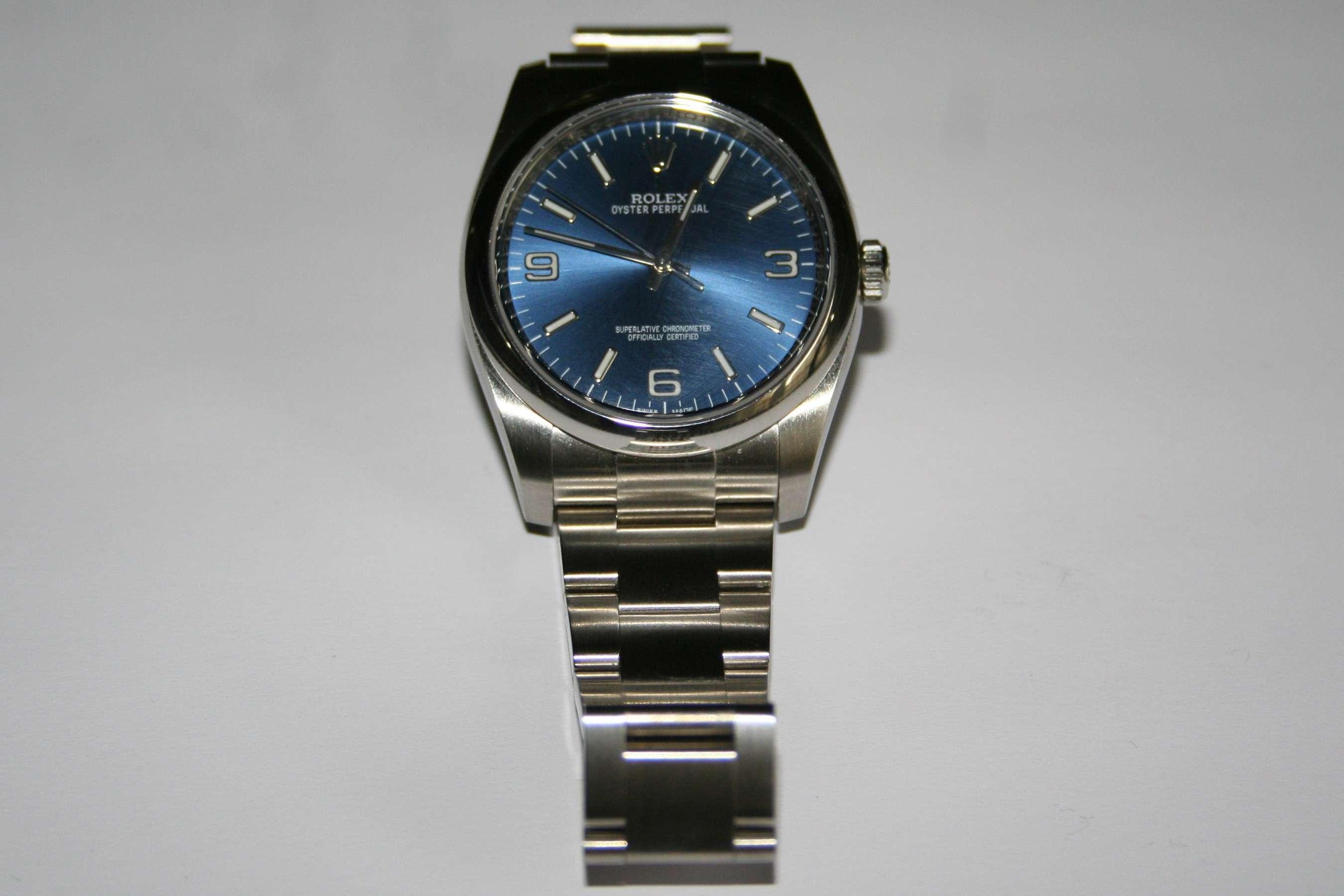 [Vends] Rolex Oyster Perpetual 116000 cadran bleu - comme neuve 111