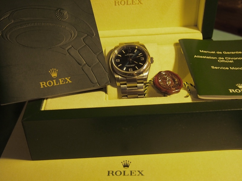 [Vends] Rolex Oyster Perpetual 116000 cadran bleu - comme neuve 210