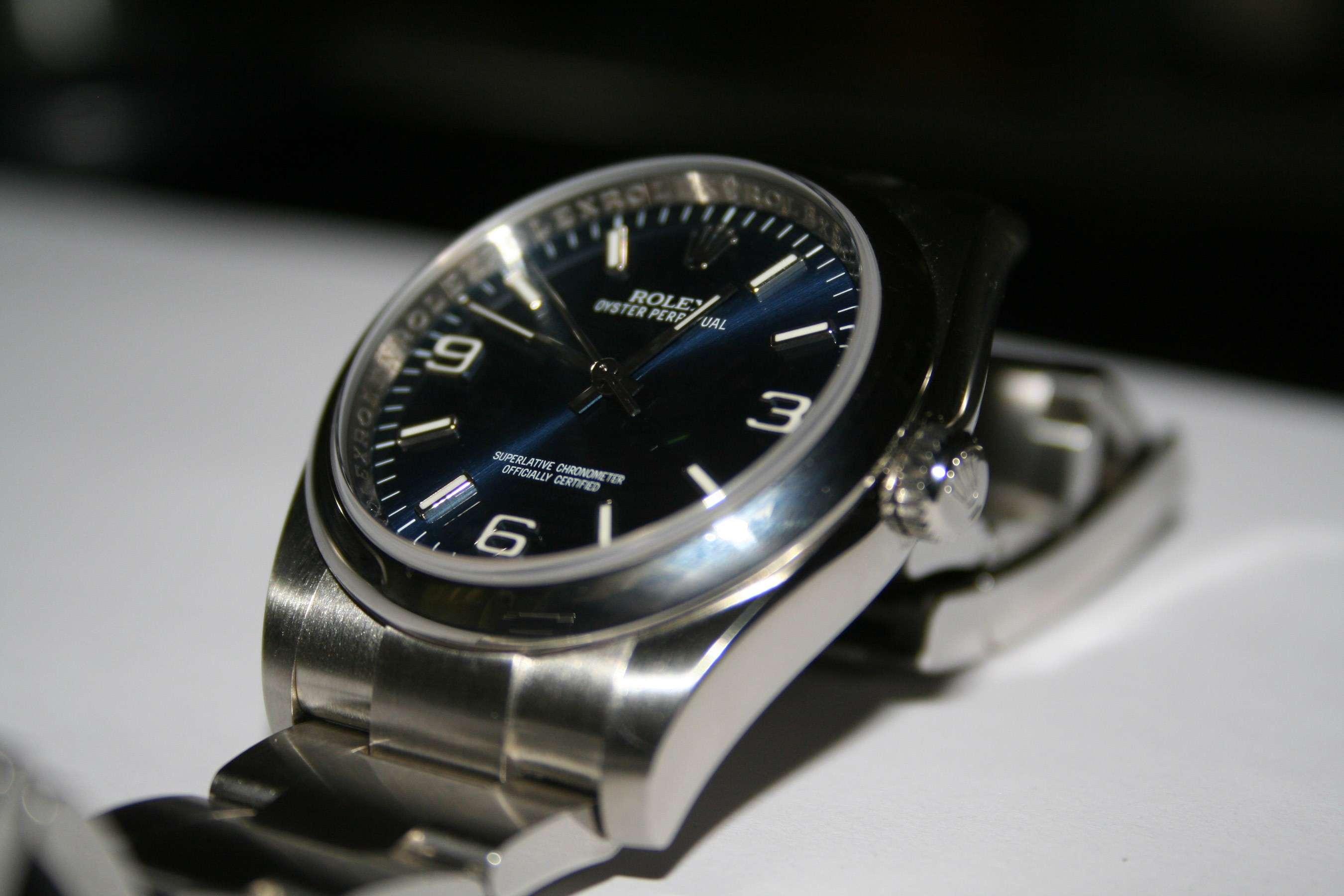 [Vends] Rolex Oyster Perpetual 116000 cadran bleu - comme neuve 211