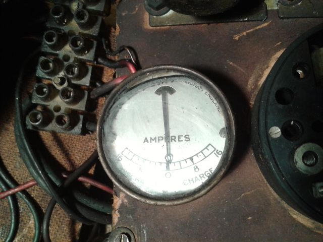 Making a generator for the Lister B - I have an old motor is it suitable? 2014-020