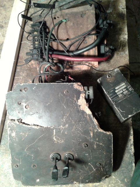 Making a generator for the Lister B - I have an old motor is it suitable? 2014-022