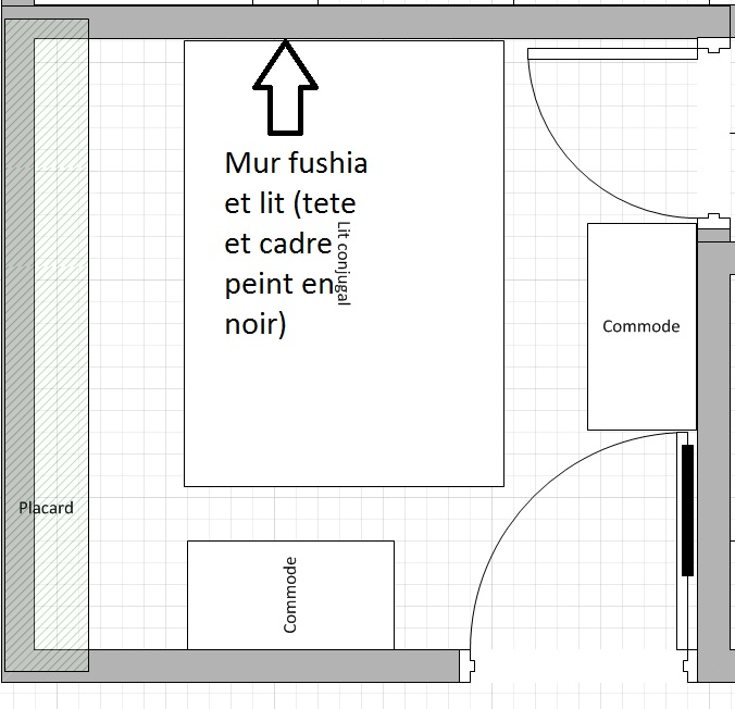 [Conseils Déco] Chambre fushia et noir Chambr11
