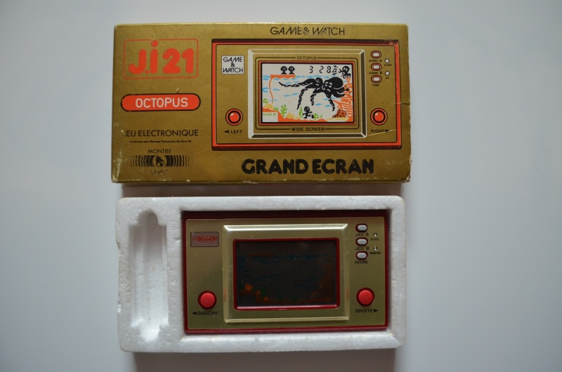 les Game & Watch Publicitaires Octopu10