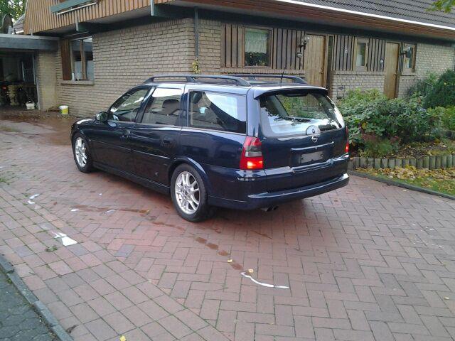 Mein Alltagswagen und Windelbomber  Opel Vectra b Kombi 2,5 V6 Img-2011