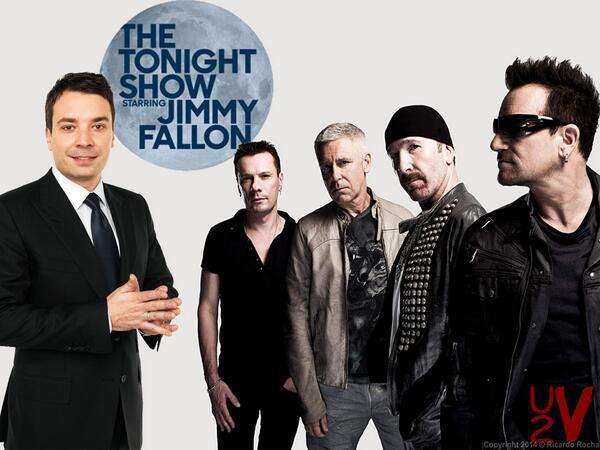 Gli U2 parteciperanno alla premiere del nuovo 'The Tonight Show' Bgbgyo10
