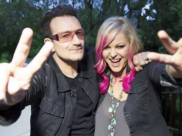 """Bono ad Amanda Brunker: """" Gli album saranno 2"""" Bhq7l910"""