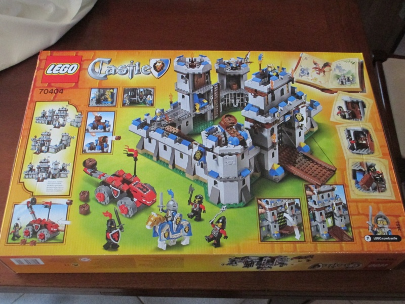 (VENDO) LEGO SET STAR WARS 7111 DROID FIGHTER NINJAGO 2506 FUORISTRADA TESCHIO E LEGO CASTLE 70404 Img_0014