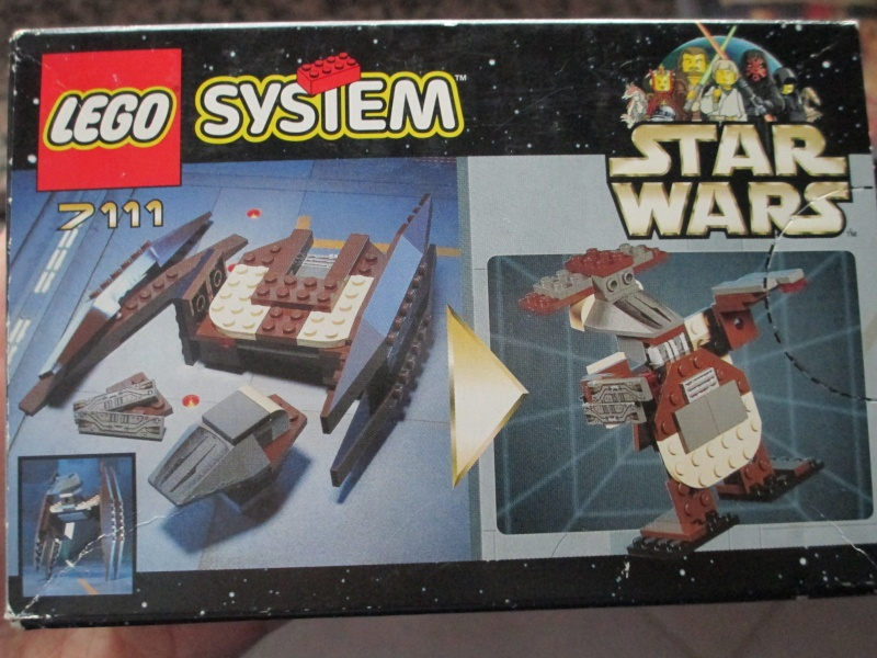 (VENDO) LEGO SET STAR WARS 7111 DROID FIGHTER NINJAGO 2506 FUORISTRADA TESCHIO E LEGO CASTLE 70404 Img_0015